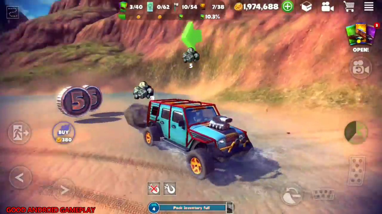 Off The Road - OTR Open World Driving - DEFENDER Truck Full Upgrade Android  GamePlay FHD