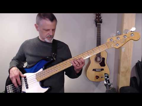 This Is Amazing Grace - bass cover