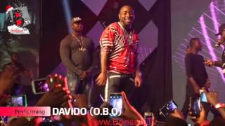 Video DAVIDO spoils his fans with the CASH FLOW at the SOUND CITY URBAN BLAST FESTIVAL