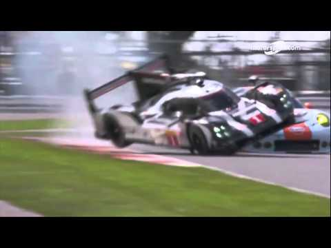 6H of Silverstone   Brendon Hartley crash