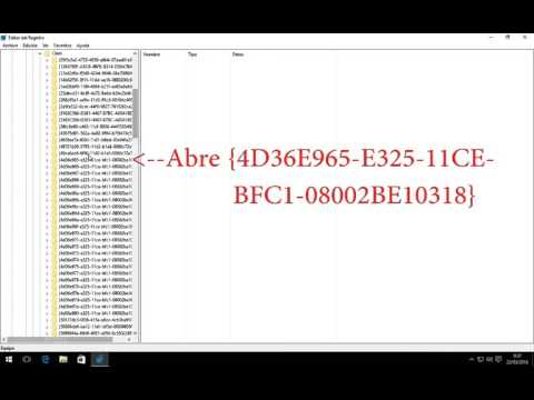 Solucion al Error Codigo 19 de DVD/CD-ROM en Windows 10