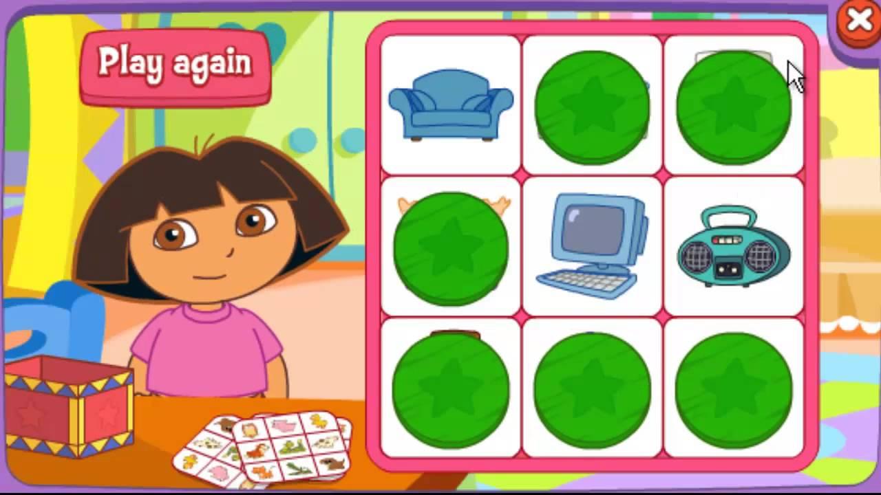 Dora The Explorer 3d Dora House Games 30 Minutes Youtube