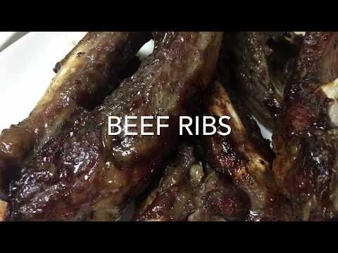 Beef Ribs With Oyster Sauce Glaze Recipe