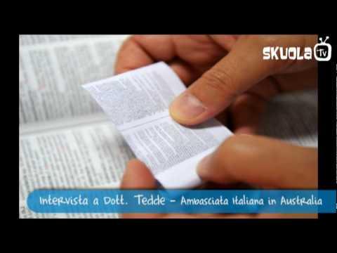 Tracce dall'Australia: intervista all'ambasciata