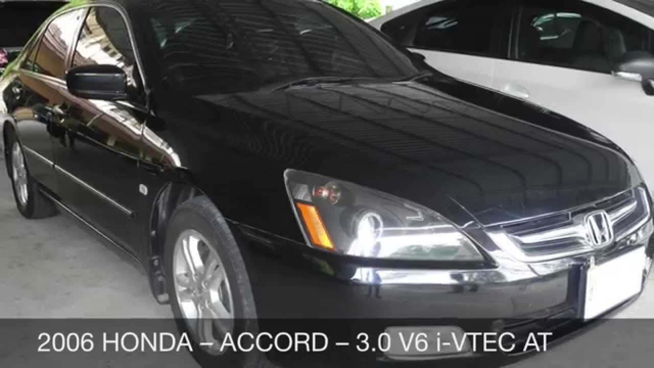 2006 honda accord 3 0 v6 i vtec at youtube. Black Bedroom Furniture Sets. Home Design Ideas