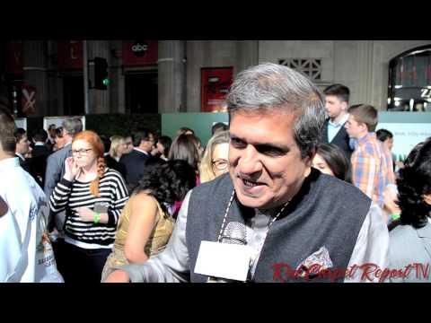 Darshan Jariwala at the World Premiere of #Disney's #MillionDollarArm