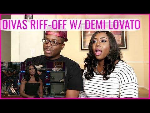 Cover Lagu Divas Riff-Off w/ Demi Lovato   Couple Reacts STAFABAND