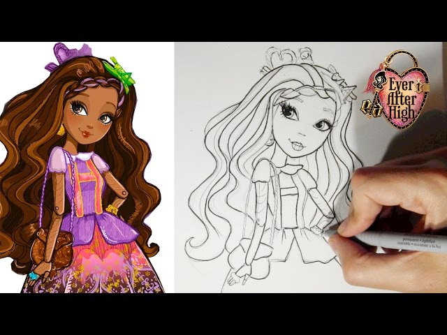 Coloriage Ever After High Cedar Wood Coloriages Engaging Clothing
