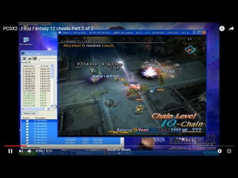 ff12 gameshark codes ps2