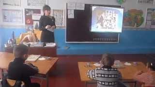 Відкритий  урок  з математики  2 клас (2012)