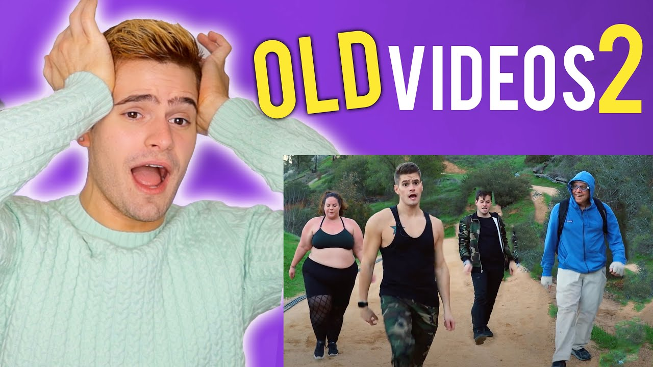 Reacting To My Old Fitness Marshall videos PART 2 *CRINGES HARDER*