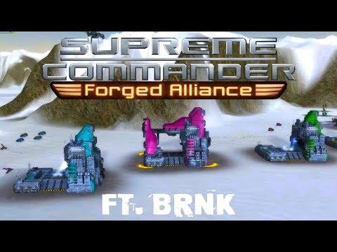 Whiteheart vs. Blackheart - FAF BHEdit Tourney, Game 8 - Supreme Commander Forged Alliance