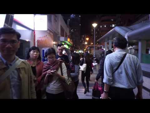 Hong Kong, Sham Shui Po MTR Station, Cheung Sha Wan Road, OTIS elevator - going up