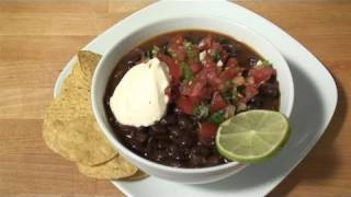 How To Cook Black Bean Soup