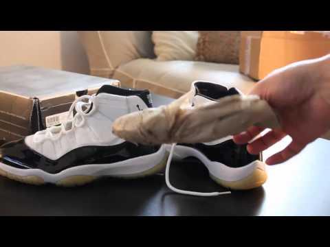 Nike Air Jordan 11 Retro (2000) Concord DEADSTOCK Unboxing/Review