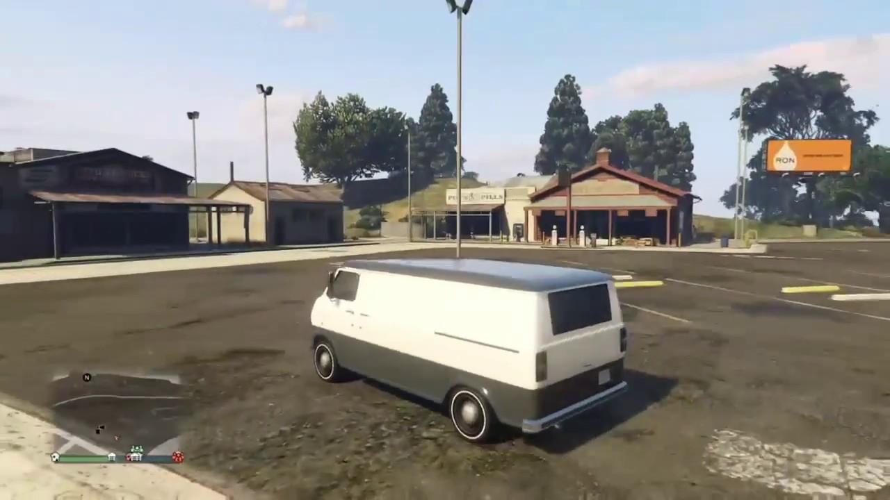 Gta 5 A Team Van Build