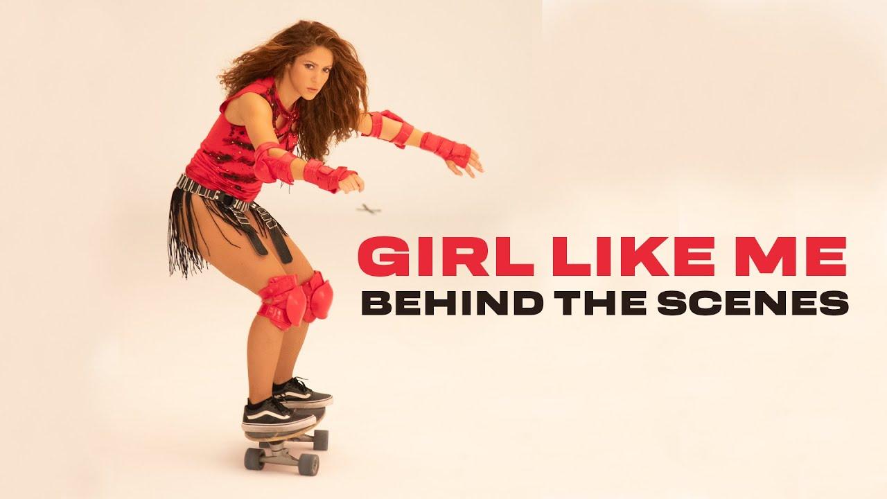 Download Shakira & Black Eyed Peas: Girl Like Me (Official BTS Video)