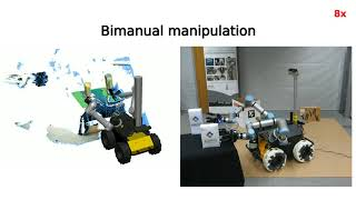 Robust Shared Autonomy for Mobile Manipulation with Continuous Scene Monitoring