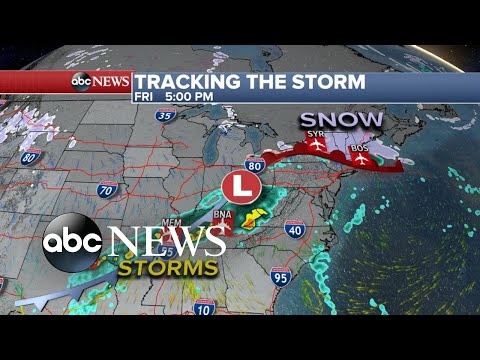 Major winter storm on the move this holiday season