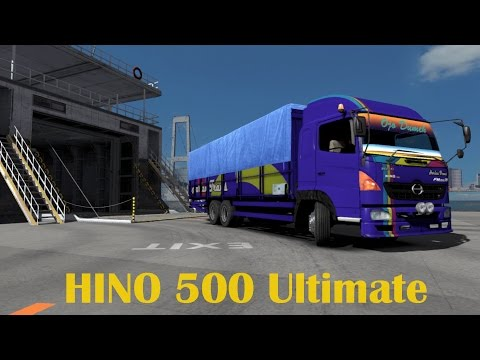 Hino 500 Ultimate Logistik Kejar Waktu | ets2 mod Truck Indonesia