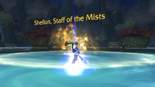 The Story of Sheilun, Staff of Mists [Artifact Lore]