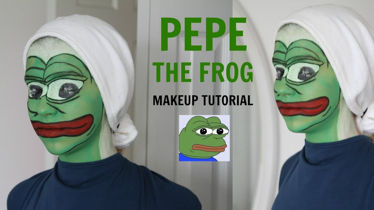 Frog Face Paint Tutorial
