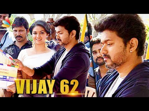 OFFICIAL! Vijay 62 starts shooting | Keerthi Suresh, AR Murugadoss Movie