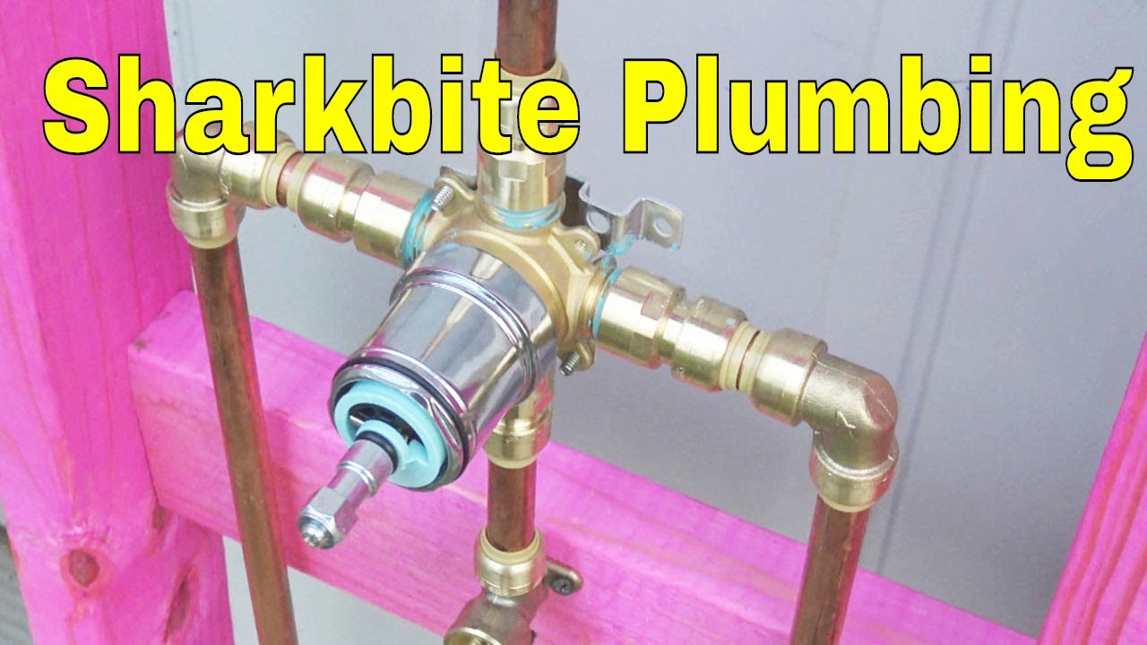 sharkbite plumbing how to plumbing