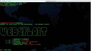 DOS with websploit Beginners guide By hackers Creed