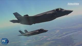 Two U.S.-made F-35 fighter jets arrive in Israel