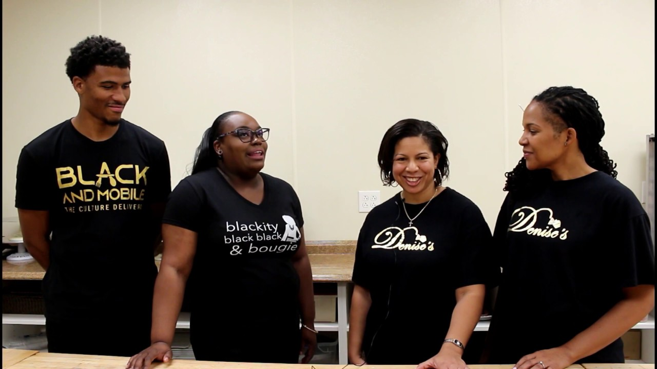 Talking Black Businesses with Black and Mobile and Denise's Delicacies