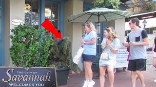 BUSHMAN PRANK IN SAVANNAH GEORGIA
