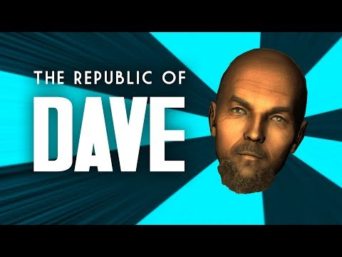 The Full Story of the Republic of Dave - Fallout 3 Lore