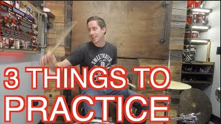 3 Things to Practice while Stuck at Home! (Free Drum Lesson)