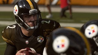 Lamar Jackson vs Mason Rudolph | Ravens vs Steelers | Madden NFL 19 All Madden Gameplay
