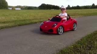 Feber Ferrari F430 6V - Accu kinderauto