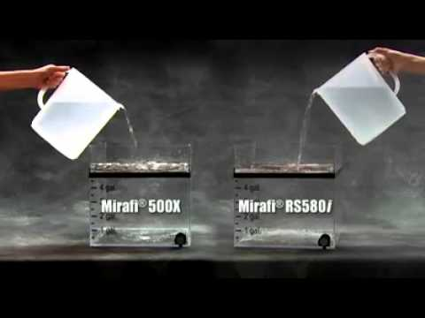 Mirafi RS580i geotextile product demo