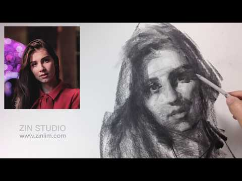 drawing-portrait-in-charcoal.