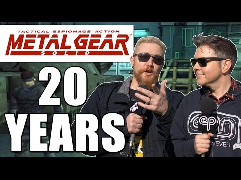 METAL GEAR SOLID 20TH ANNIVERSARY  Happy Console Gamer