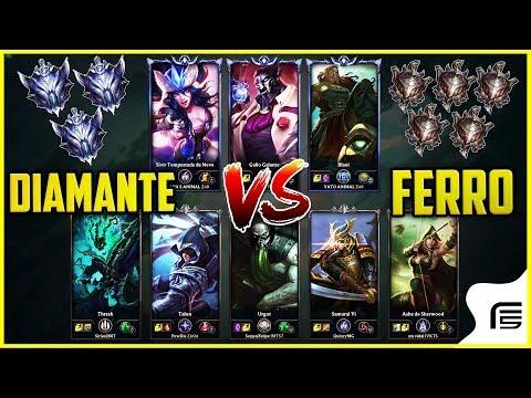 3 DIAMANTES VS 5 FERROS - É POSSÍVEL PERDER? - League of Legends - [ PT-BR ] thumbnail