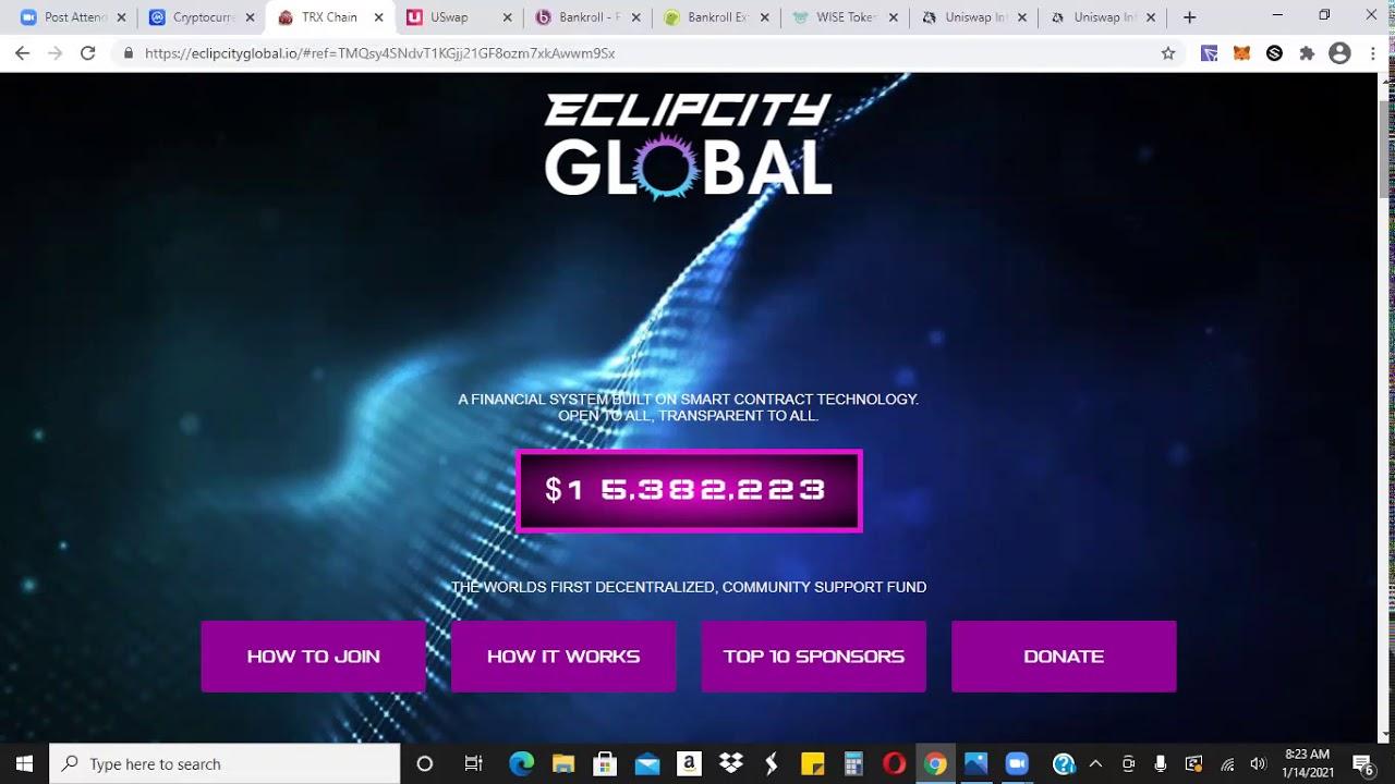 Download Quick Updates - EclipCity Global EFT UME - Bankroll Flow BANKRX - Wise Token