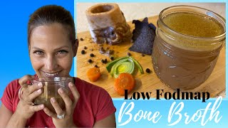 Doctor Tries 3 Ingredient Bone Broth | Low Fodmap