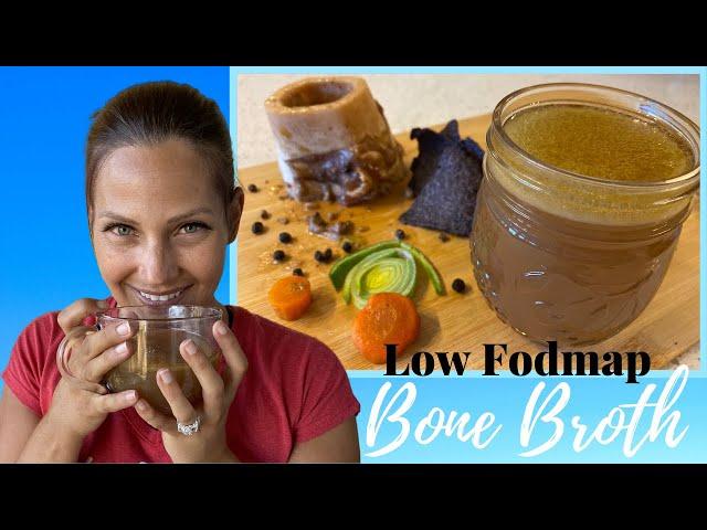 Doctor Tries 3 Ingredient Bone Broth | Low Fodmap