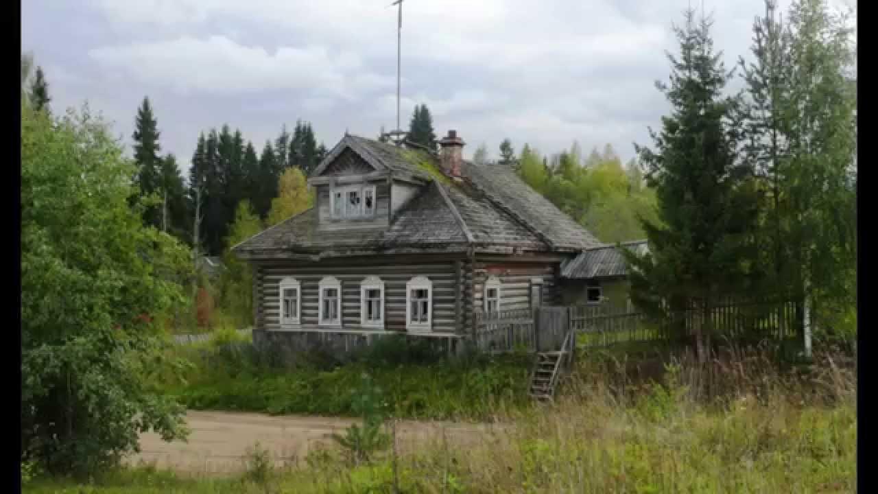 Подготовили и покрасили дом в деревне Мстинский Мост - YouTube