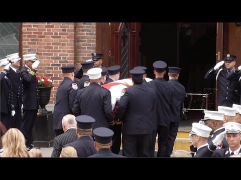 Family, Friends Mourn One of New York's Bravest