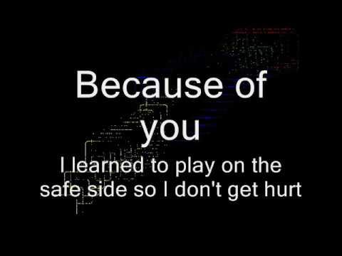 Ne-Yo Because Of You Lyrics - YouTube