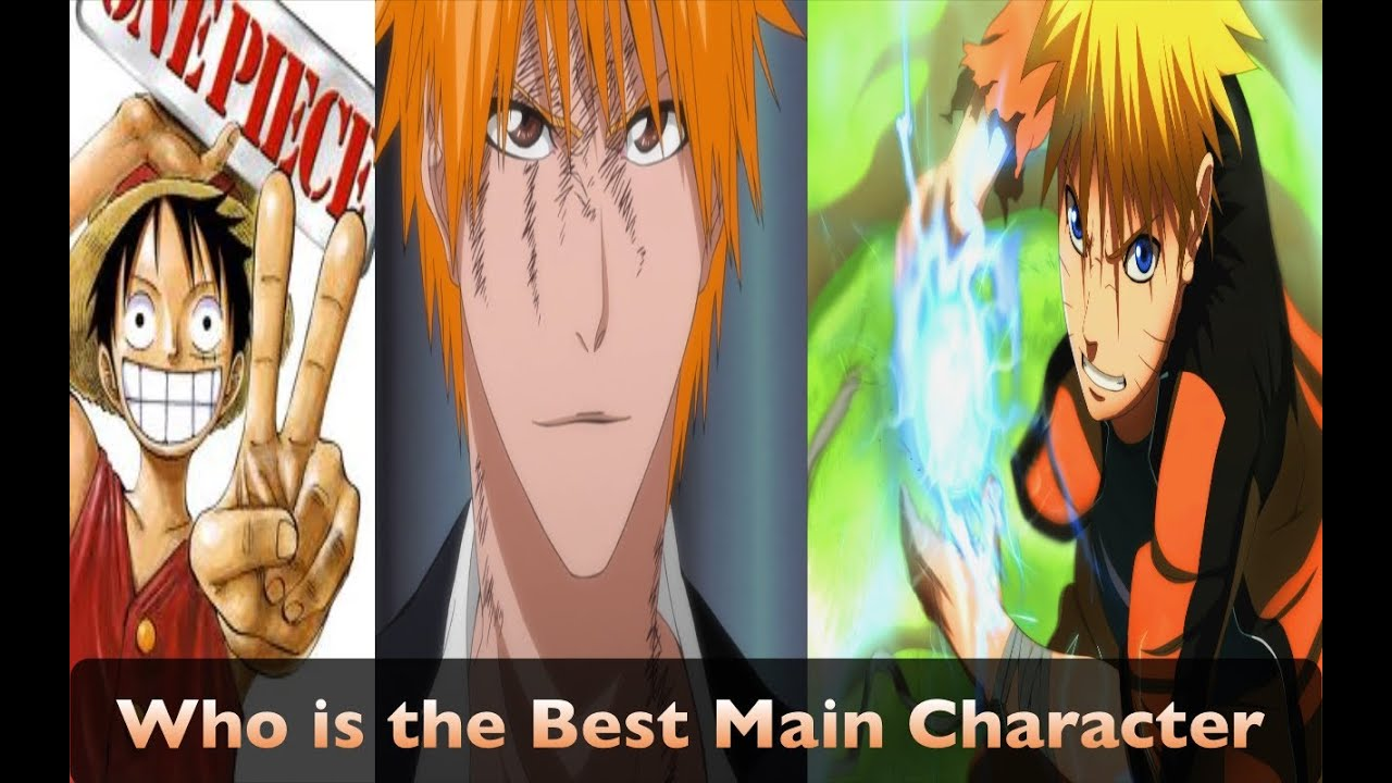 Who Is The Best Main Character From The Big 3 Anime - Youtube-7039