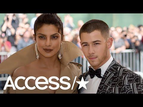 Priyanka Chopra & Nick Jonas Cuddle Up On Date Night | Access