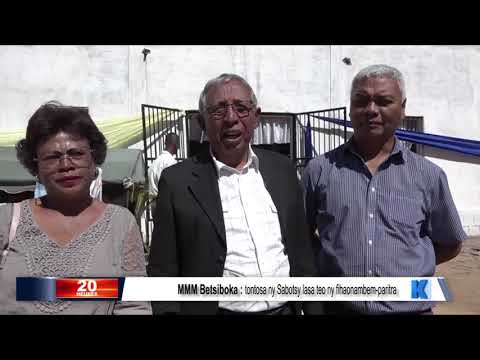 INFO K MADA : MMM Betsiboka DU 23 JUILLET 2019 BY KOLO TV