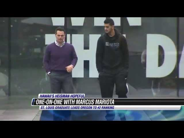 Marcus Mariota - Exclusive One on One